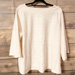 Old Navy Pink Boat Neck Top (NWT)
